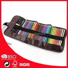 new products 24 colored pencils set with roll up bag