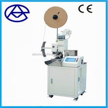 Full Automatic electric wire cutting stripping crimping machine, electrical cable making equipment, crimping tool
