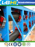 Belt conveyor for coal mine material transport