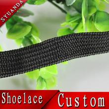 Hot selling whiteyellow double face shoelaces basketball shoelaces