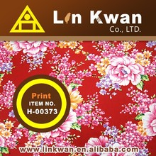 Linkwan H-00373 china stlye tradition flower print cotton dress for teenagers/LK