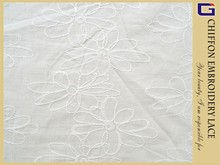 PS-H0011 COTTON CREPE EMBROIDERY LACE