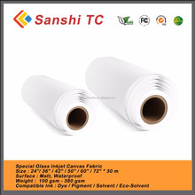 Eco solvent 100% Cotton Artist Inkjet Canvas,Digital Photo to Canvas Printing roll