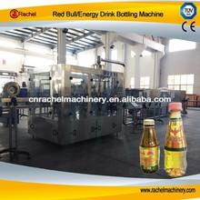 red bull energía de llenado de bebidas línea de producción