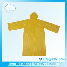 PE\PEVA before open long gown raincoat