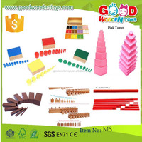 Preschool Educational Montessori- Sensorial Toys Montessori material- Equipment Montessori Wooden Toys