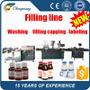 Automatic bottle washing filling capping machine,bottle washing machine