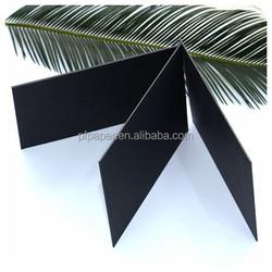 Black Solid Cardboard 2MM Stiff Black Paper Board