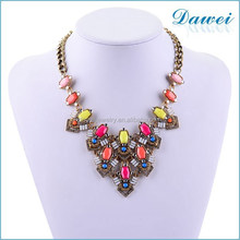 fashion bib statement necklace for wholsale in china