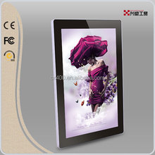 Convenient magnetic open luminous wedding photo frame gallery photo frame