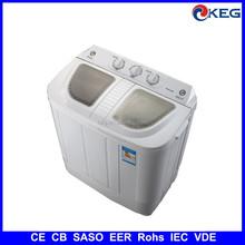 5kg twin tub semi automatic washing machine with CB SASO EER