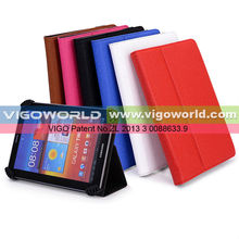 Universal leather case cover for Nextbook Premium 8HI/HD with Built-in Stand [Accord Series]