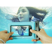 PVC Waterproof Dry Bag Waterproof Phone Case For Swimming