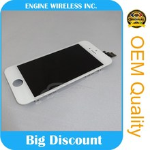 mobile phone spare parts for iphone 5 LCD with touch screen