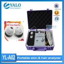 Wholesale price of YL-A02 Boxy Skin And Hair Analyzer Skin Scope Analyzer For Skin Test