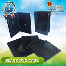 wholesale PP double black dvd case