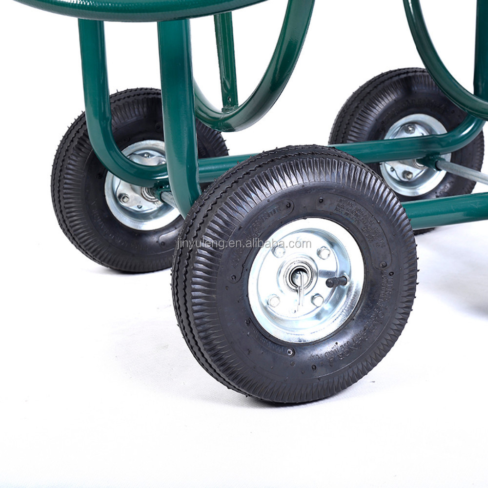 Tc1850/1880 Metal Four Wheels Garden Hose Reel Cart - Buy Garden Cart
