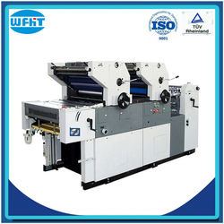 HT256 double color small sticker printing machine