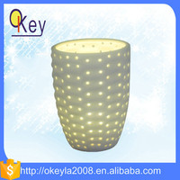 battery operated ceramic china import items decor for home