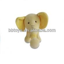 Wholesale soft mini animal baby toys plush elephant dolls plush animal toys