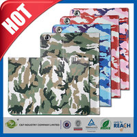 C&T Fashion camouflage leather case cover stand for ipad pro china price