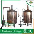 300l llave en mano, bar 500l microbrewery instalaciones para cerveza stout