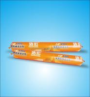 Colored silicone sealant spray