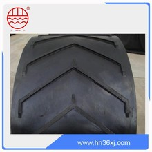 manufacturer of high quality reliable working condition highly used conveyor belt rubber chevron