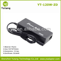 120W 24v 5a ac universal laptop power charger adapter with USB power supply