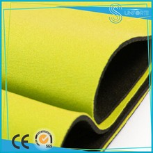 Neoprene Rubber Sheet with Colors Polyester Fabric
