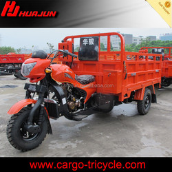 three wheel cargo motorcycle for Loading Water