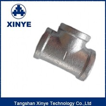 Hot-dip galvanized malleable cast iron pipe fittings,Tee