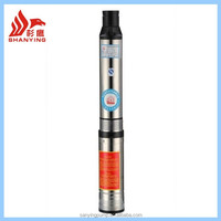Taizhou Price 100% Copper Wire Agriculture Irrigation 3hp Submersible Water Pumps With Control Box Deep Well Pump
