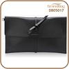 New Design Elegant Shape Saffiano PU Leather Women Cluch Bags Genuine Leather Lady Envelope Bag