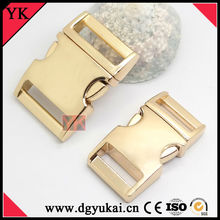 Gold Side Release Buckles/Metal Side Release Buckles