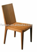 G-733 Yellow solid wood dining chair