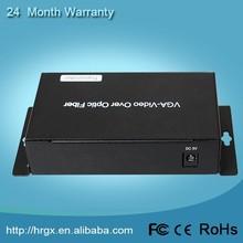 China top selling product 1 Channel VGA Video & Audio Single Fiber rca to vga converter