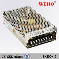 Different types S-200-12 Dc Power 200w 12v power supply