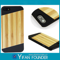 High quality custom wood cell phone case for Apple iphone 5 5S