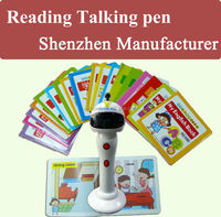 Reading Pen OEM Smart kids Learning Toy Touch Read Pen and Audio Books