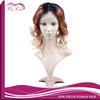 Can customized 1b/33/613 three tone ombre wig brazilian human hair wig