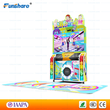 Funshare hot new coin operated dance arcade dancing game machine