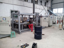DCPD concrete injection machine for instrument panel