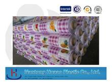 hotsale colorful fruits pattern pvc table cover pvc rolls pvc film