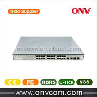 10/100M 24 port poe ethernet switch support IEEE802.3at