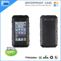 2014 New style metal aluminum waterproof and shockproof case for iphone5/5s