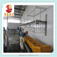 chicken slaughtering machine/halal poultry slaughter equipment/chicken meat processing machine
