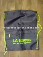 Nylon Swim School Dance Shoe Boot Sach PE Drawstring Gym Bag