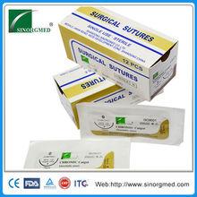 China Supplier for Sterile or In Bulk Absorbable Chromic or Plain Catgut Suture Bulk Medical Suture