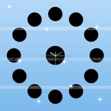 Reloj de pared relojes de pared decorativos espejo de acrílico del reloj de pared